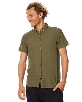 DUSTY OLIVE MENS CLOTHING THRILLS SHIRTS - TS7-201FDOLV