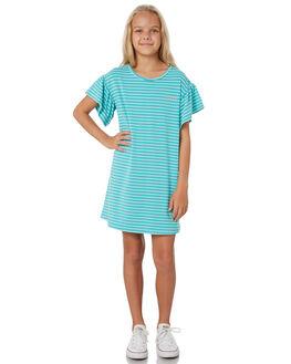 BRIGHT JADE KIDS GIRLS RUSTY DRESSES + PLAYSUITS - DRG0001BRJ