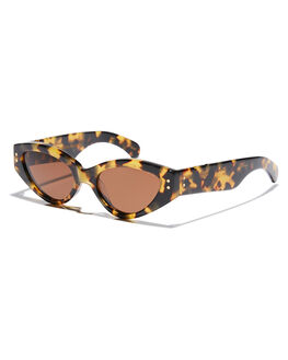DARK TORTOISE WOMENS ACCESSORIES PARED EYEWEAR SUNGLASSES - PE1804DTDTOR