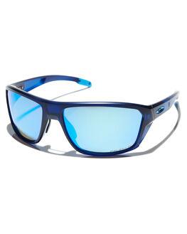 MATTE TRANS BLUE MENS ACCESSORIES OAKLEY SUNGLASSES - 0OO9416-0464
