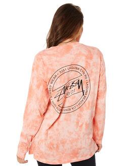 PEACH WOMENS CLOTHING STUSSY TEES - ST105100PEACH