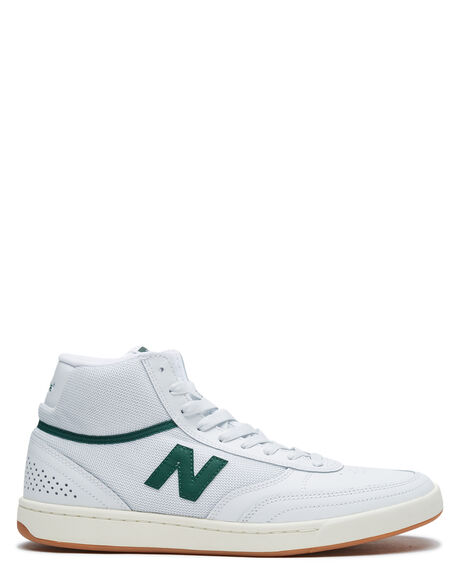 WHITE GREEN MENS FOOTWEAR NEW BALANCE SNEAKERS - NM440HWGWHIG