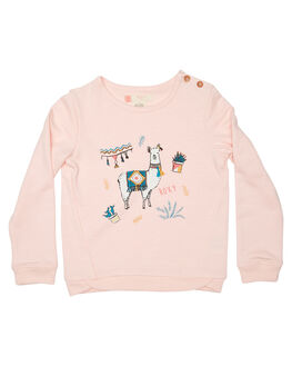 ROSE QUARTZ KIDS TODDLER GIRLS ROXY JUMPERS - ERLFT03118MCS0