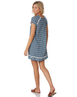 SLATE BLUE WOMENS CLOTHING RIP CURL DRESSES - GDRIF11115