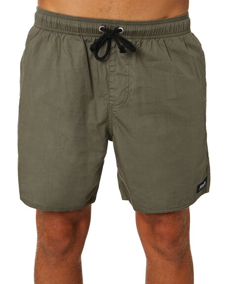 KHAKI MENS CLOTHING AFENDS BOARDSHORTS - M183359KHA