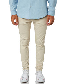 OATMEAL MENS CLOTHING ACADEMY BRAND PANTS - 19W104OAT