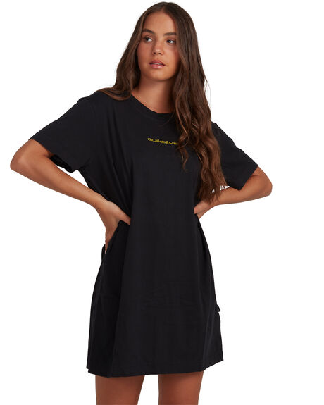 BLACK WOMENS CLOTHING QUIKSILVER DRESSES - EQWKD03005-KVJ0