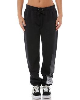 BLACK WOMENS CLOTHING RUSTY PANTS - PAL1023BLK