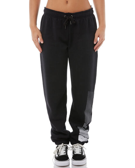BLACK WOMENS CLOTHING RUSTY PANTS - PAL1023BLK