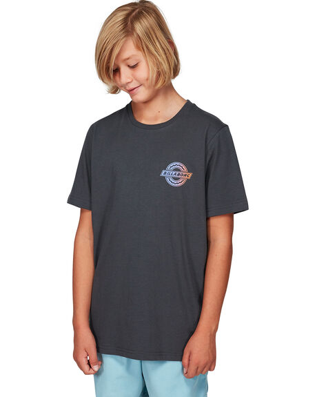 WASHED BLACK KIDS BOYS BILLABONG TOPS - BB-8592004-WAA