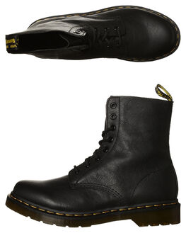 BLACK WOMENS FOOTWEAR DR. MARTENS BOOTS - SS13512006BLKW