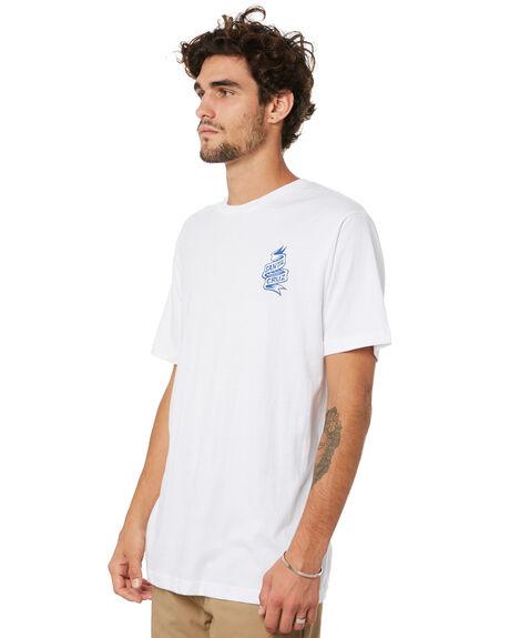 WHITE MENS CLOTHING SANTA CRUZ TEES - SC-MTA0541WHT