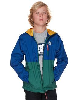 SODALITE BLUE KIDS BOYS DC SHOES JUMPERS + JACKETS - EDBJK03037BYB0