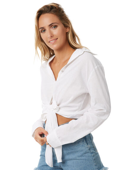 WHITE WOMENS CLOTHING TEE INK FASHION TOPS - CAST26AWHT
