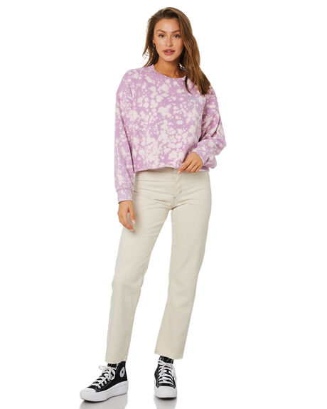 ORCHID OUTLET WOMENS STUSSY HOODIES + SWEATS - ST115301ORC