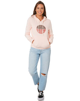 ECHO PINK WOMENS CLOTHING HURLEY JUMPERS - CD9242-610