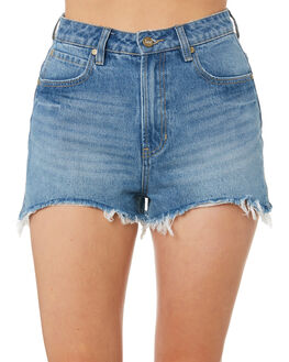 98 BLUES WOMENS CLOTHING LEE SHORTS - L-656537-GK4