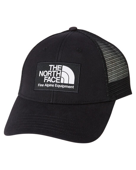 BLACK MENS ACCESSORIES THE NORTH FACE HEADWEAR - NF00CGW2JK3