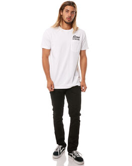 WHITE MENS CLOTHING DEUS EX MACHINA TEES - DMS41065AWHT