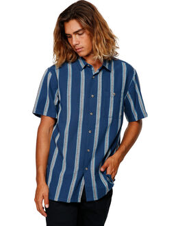 DARK BLUE MENS CLOTHING BILLABONG SHIRTS - BB-9591203-B69
