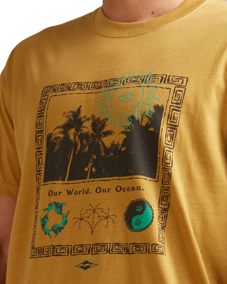 OLD GOLD MENS CLOTHING BILLABONG TEES - BB-9517036-O68