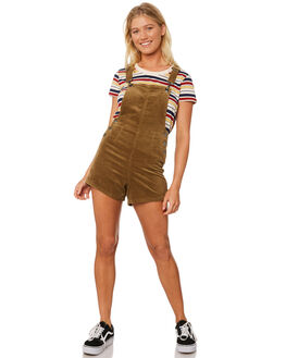 MOSS WOMENS CLOTHING AFENDS PLAYSUITS + OVERALLS - W181881MOSS