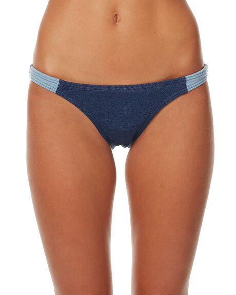 DENIM WOMENS SWIMWEAR AFENDS BIKINI BOTTOMS - 58-01-016DNM
