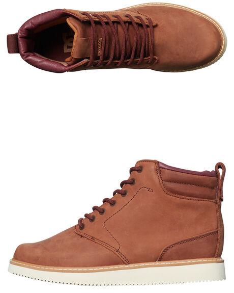 TOBACCO MENS FOOTWEAR DC SHOES BOOTS - ADYB700012TOB