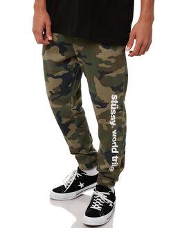 CAMO MENS CLOTHING STUSSY PANTS - ST085611CAMO