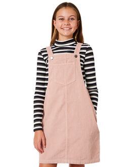 BLUSH PINK KIDS GIRLS EVES SISTER DRESSES - 9910067PNK