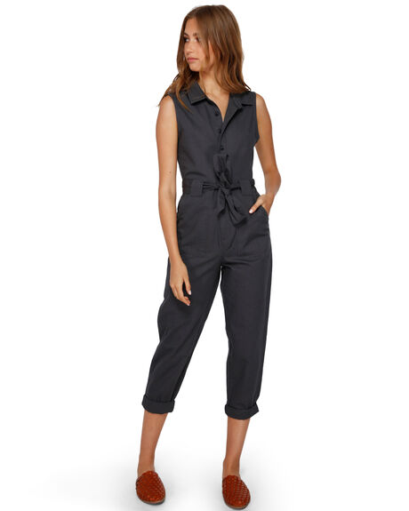 BLACK SANDS WOMENS CLOTHING BILLABONG PLAYSUITS + OVERALLS - BB-6591505-BSD