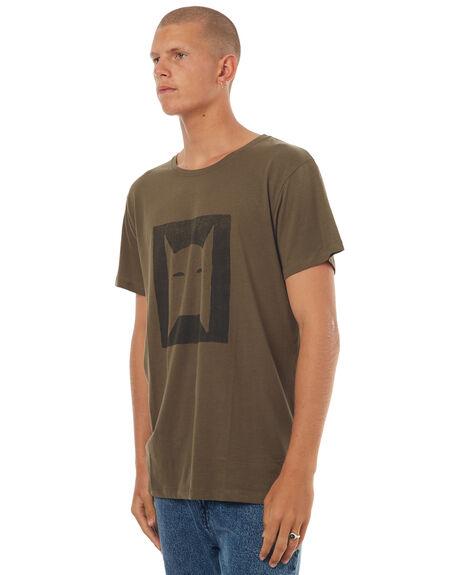 OLIVE MENS CLOTHING MCTAVISH TEES - MW-17T-06OLI