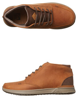 CHOCOLATE BROWN MENS FOOTWEAR REEF BOOTS - A3623CBN
