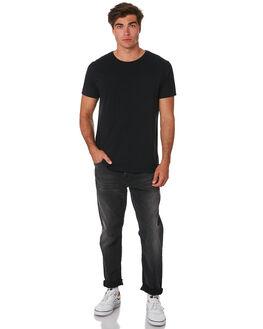 CONCRETE BLACK MENS CLOTHING NUDIE JEANS CO JEANS - 113204CONC