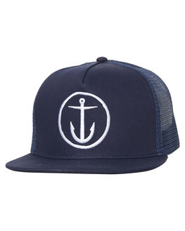 NAVY MENS ACCESSORIES CAPTAIN FIN CO. HEADWEAR - CFA5511514NVY