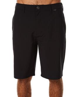 BLACK MENS CLOTHING HURLEY SHORTS - MWS000524000A