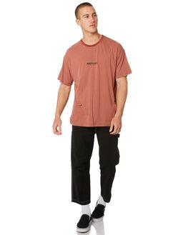 WASHED BLACK MENS CLOTHING MISFIT PANTS - MT096602WSBLK
