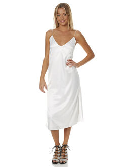 WHITE WOMENS CLOTHING MAURIE AND EVE DRESSES - 6145WHT