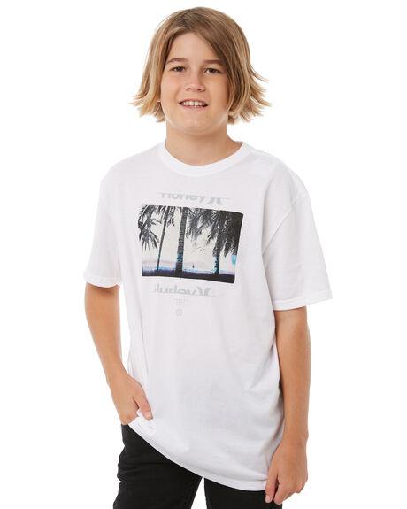 WHITE KIDS BOYS HURLEY TEES - AB892190100