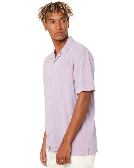 PIGMENT PLUM OUTLET MENS NO NEWS SHIRTS - N5201166PIGPM