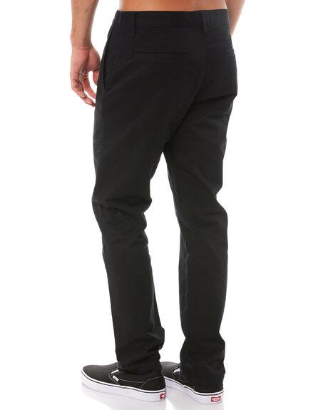 BLACK MENS CLOTHING RVCA PANTS - R383273BLK