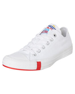 WHITE MENS FOOTWEAR CONVERSE SNEAKERS - 166737CWHT