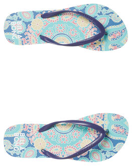 ARUBA BLUE WOMENS FOOTWEAR BILLABONG THONGS - 6681804ARU
