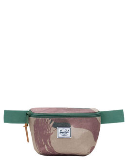 BRUSHSTROKE CAMO MENS ACCESSORIES HERSCHEL SUPPLY CO BAGS + BACKPACKS - 10514-02460-OSMULTI