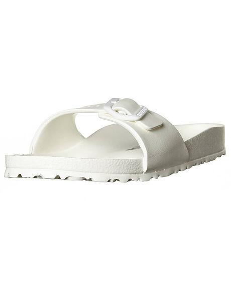 WHITE WOMENS FOOTWEAR BIRKENSTOCK FASHION SANDALS - 128183WHI