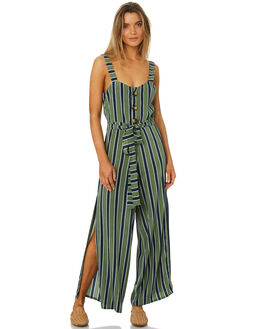 MIRA STRIPE WOMENS CLOTHING SANCIA PLAYSUITS + OVERALLS - 710AMRST