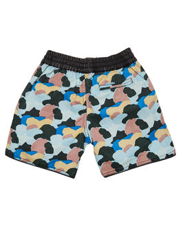 MULTI KIDS TODDLER BOYS CHILDREN OF THE TRIBE SHORTS - BYDR0320MUL