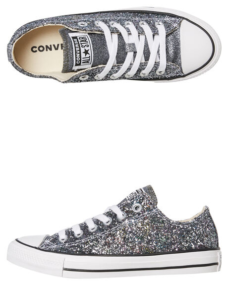Womens Chuck Taylor All Star Glitter Lo Shoe
