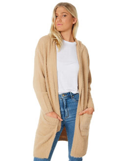 TAN WOMENS CLOTHING ALL ABOUT EVE KNITS + CARDIGANS - 6414005TAN