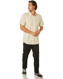 WHITE FLASH MENS CLOTHING VOLCOM SHIRTS - A0441803WHF